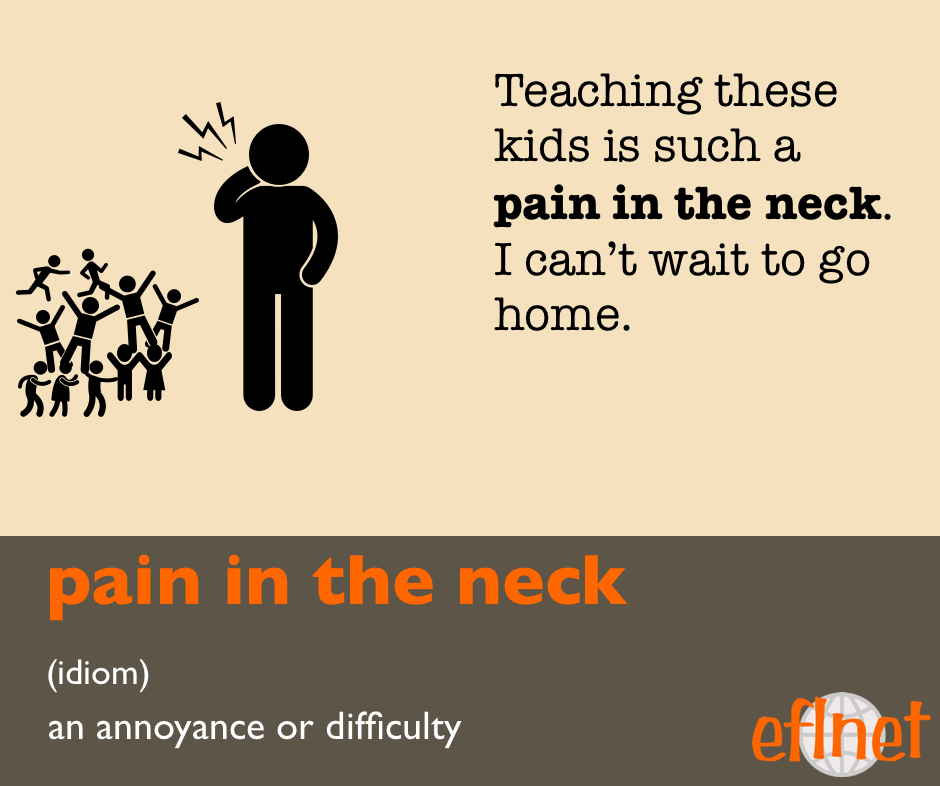 pain in the neck